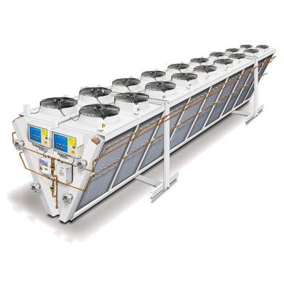 TS-V Termoconvettori monoblocco da 50 a 1000 kW.